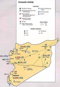 Syrien ist reich an Bodenschätzen