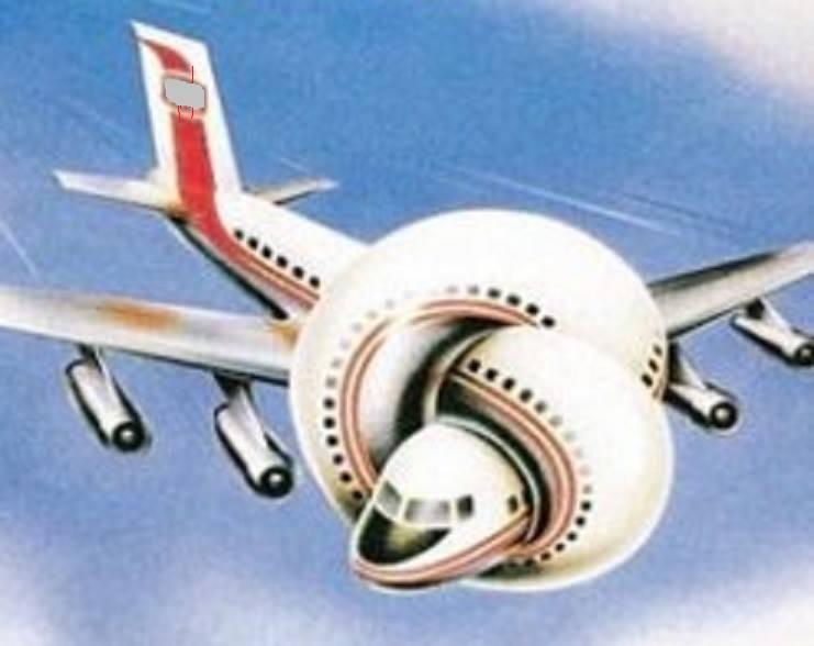 Ein sehr seltsames Flugzeug …   Miscelaneous