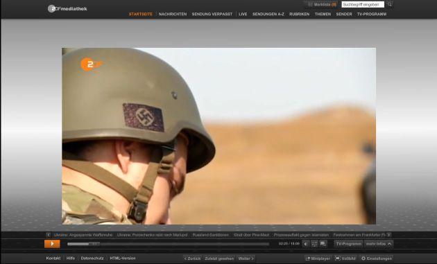 Hakenkreuz-Helm-ZDF-Heute-08.09.2014